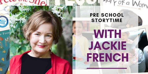 Story time with Jackie French