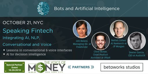 Speaking Fintech: Integrating AI, NLP, Conversational and Voice