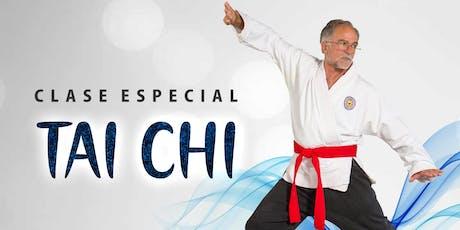 Clase especial de taichi entradas