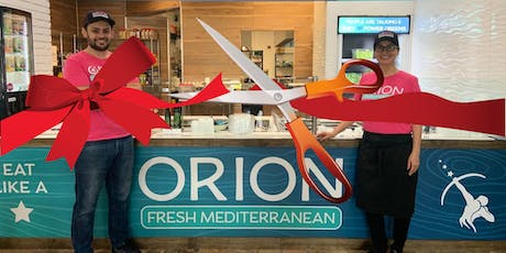Ribbon Cutting Grand Opening of Orion Fresh Mediterranean in E. Boca Raton tickets