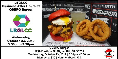 Business After Hours at GD BRO Burger tickets