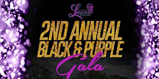 2nd Annual Black and Purple GALA