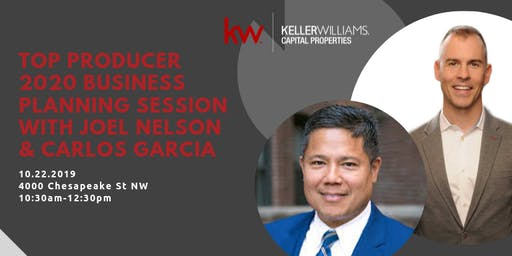 2020 Business Plan with Joel Nelson & Carlos Garcia