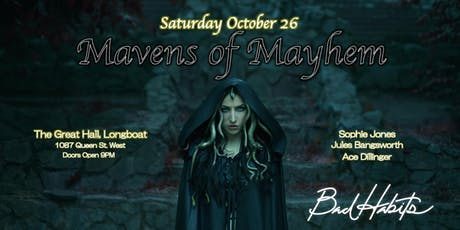 Mavens of Mayhem: A Bad Habit's Halloween tickets