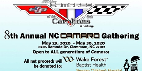 8th Annual NC Camaro Gathering tickets