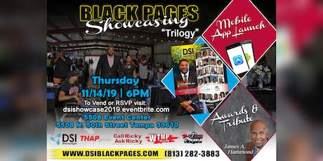 DSI Black Pages  26th Annual Showcasing tickets