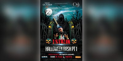 J. Stalin Performing live @ Halloween Bash Pt.1 inside of the Palladium