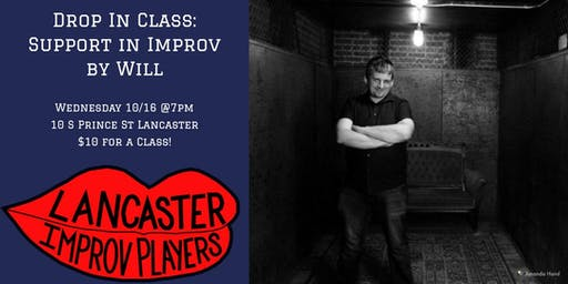 Drop in Class: Support in Improv