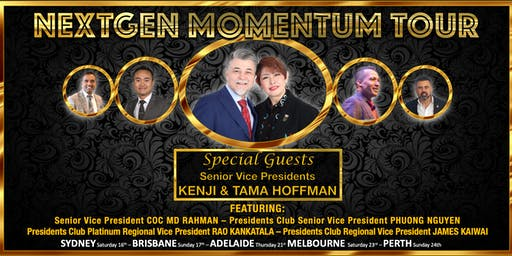 NEXTGEN MOMENTUM TOUR - VIC