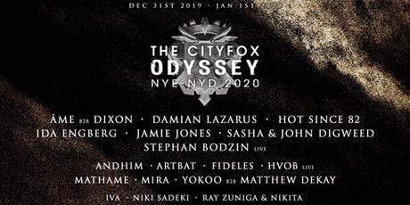 Cityfox Odyssey NYE & NYD: Âme b2b Dixon, Sasha & John Digweed and More
