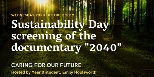 "Sustainability Day ""2040"""