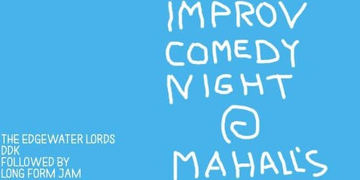 Improv Comedy Night 10/25 @Mahall's