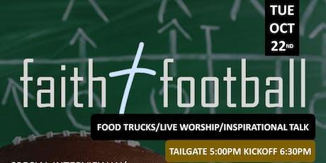 Faith and Football- New Orleans Saints tickets