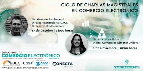 Ciclo de Charlas Magistrales sobre Comercio Electrónico tickets