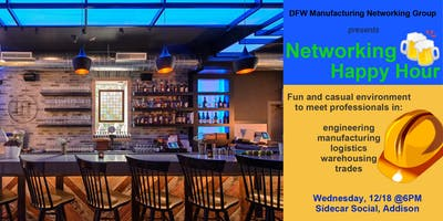 Manufacturing Professionals Networking Event (12/18)