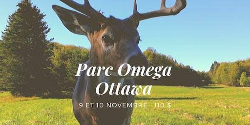 Parc Omega et Ottawa - Fin de semaine