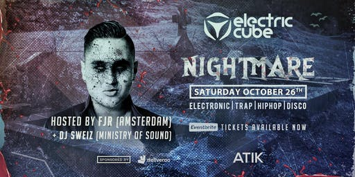 Electric.Cube presents: Halloween Nightmare ft FJR (Ams)
