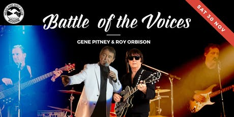 Battle of the Voices: Gene Pitney and Roy Orbison tickets