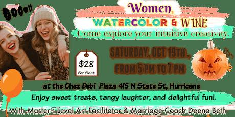 Women, Watercolor, & Wine tickets