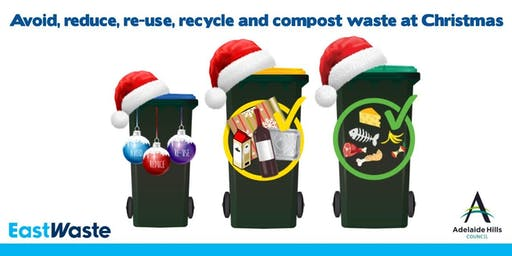 Avoid, Reduce, Re-use, Recycle and Compost waste at Christmas
