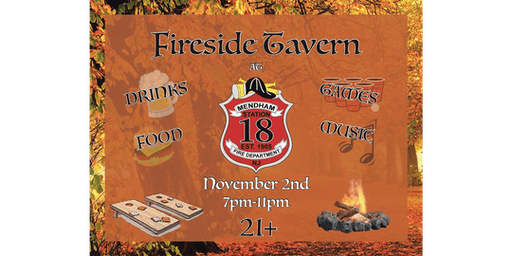 Mendham Fire Department, Fireside Tavern Fundraising Event