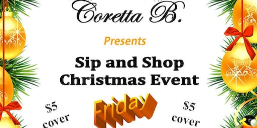 Sip and Shop Christmas Event