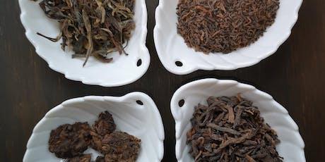 Atelier de découverte & de dégustation de thés vieillis / fermentés billets