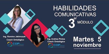 Habilidades comunicativas 3er Módulo entradas