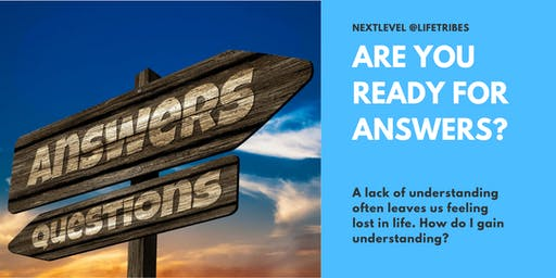 Stop Feeling Lost in Life! Move on to the NextLevel @LifeTribes