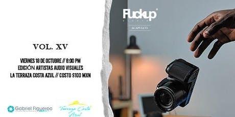 FuckUp Nights Acapulco Vol XV entradas