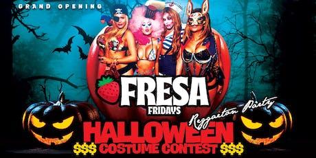 Fresa Fridays! Halloween Reggaeton Party! tickets