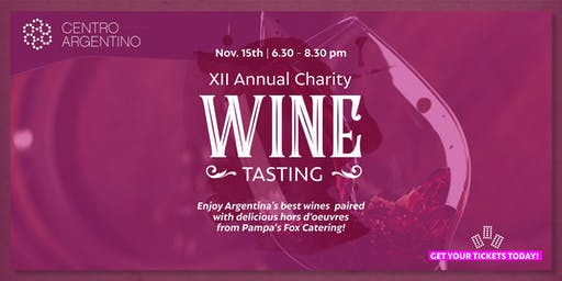 XII Annual Charity Wine Tasting
