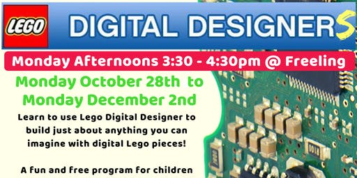 Term 4 Lego Digital Designers @ The Freeling Library