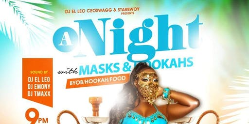 A NIGHT WITH MASKS AND HOOKAHS |HALLOWEEN PARTY