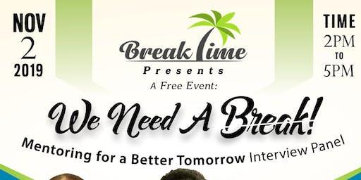 BreakTime Presents: Building Mentors