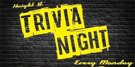 Haight Street Trivia, Comedy, Gaming & Karaoke Night! tickets