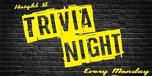 Haight Street Trivia, Comedy, Gaming & Karaoke Night!