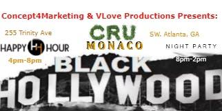 Film  Music  Fashion  and  Art    Black Hollywood Mix & Mingle