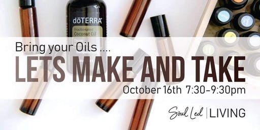 Bring Your doTerra Oils and Make & Take