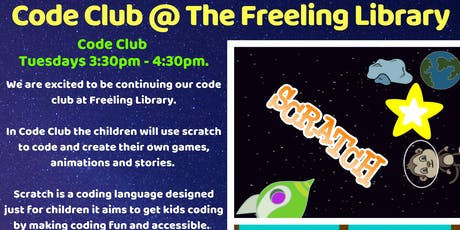 Term 4 Code Club @ Freeling Library tickets
