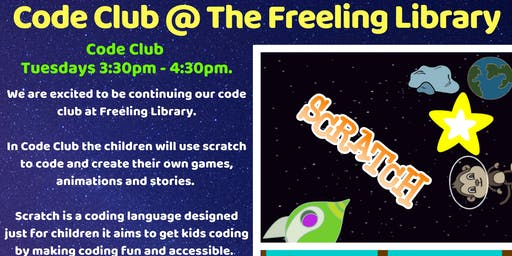 Term 4 Code Club @ Freeling Library