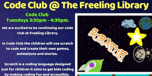 Term 4 Code Club @ Freeling Library