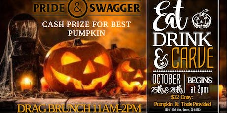Eat, Drink, & Carve - Pumpkin Carving Contest tickets