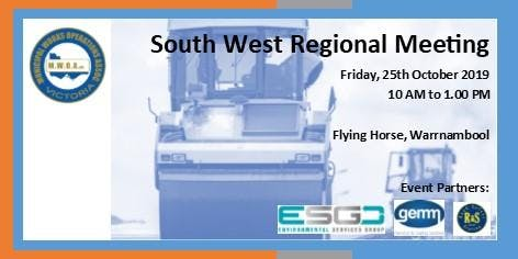 MWOA South West Regional Branch Meeting