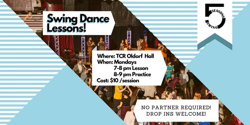5 Seasons Swing Weekly Dance Class