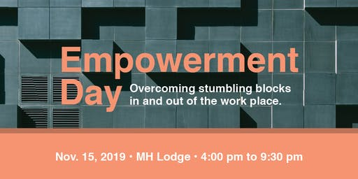 WIB Empowerment Day: Stumbling Blocks