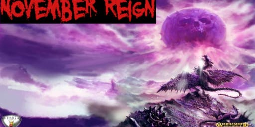 November Reign 2000pt Age of Sigmar Tournament