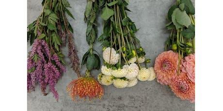 Floral Arranging Workshop (2019-10-17 starts at 7:00 PM) tickets