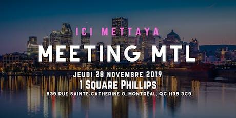 MEETING MTL tickets