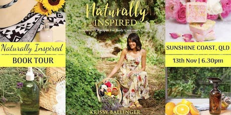 Naturally Inspired Author Talk – Sunshine Coast, QLD tickets